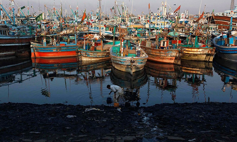 Karachi's poisons — an ocean of filth