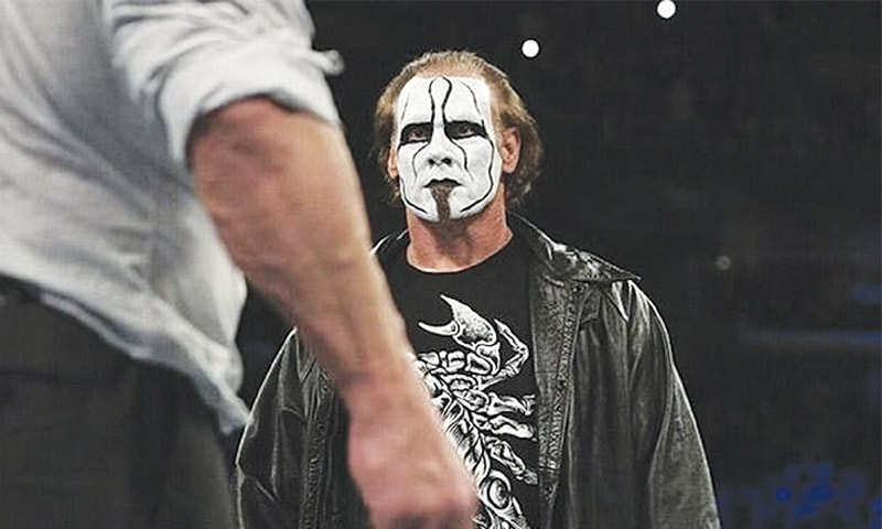 Sting making his WrestleMania debut