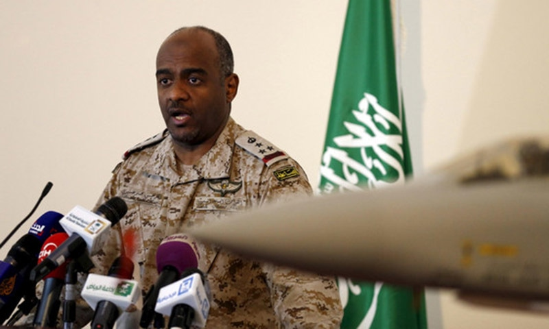 Yemen conflict: Coalition spokesman says talks with Islamabad continuing