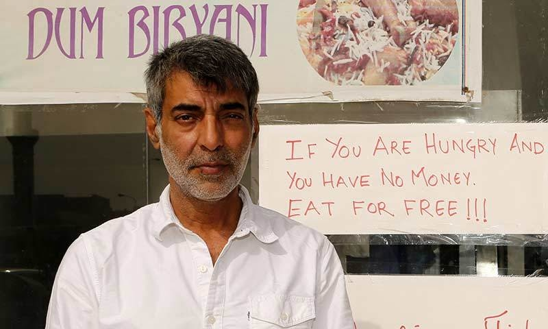 Shadab, who is a filmmaker as well as a restaurant owner, said those asking for food are mostly construction workers from countries such as India, Nepal and Bangladesh.—AFP