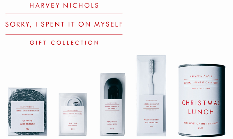 Four Grand Prix for adam&eve DDB's work for Harvey Nichols.