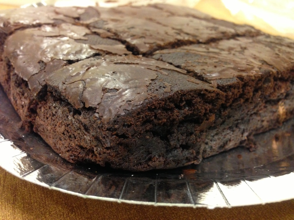 The brownies tasted like they had been made with a whole lotta love!