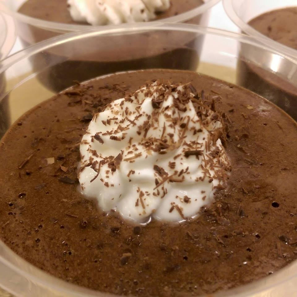 The decadent mousse