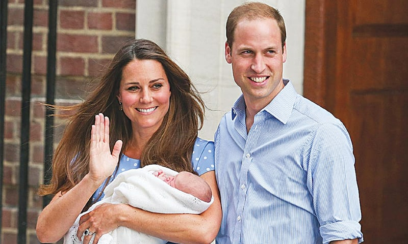 William and Kate: royal parents with a modern image