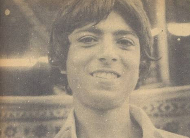 Lakhani after creating the world record in 1978.