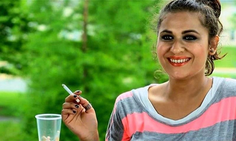Nausheen Shah as the rebellious Zainab —Photo Courtesy: Zid's official Facebook page
