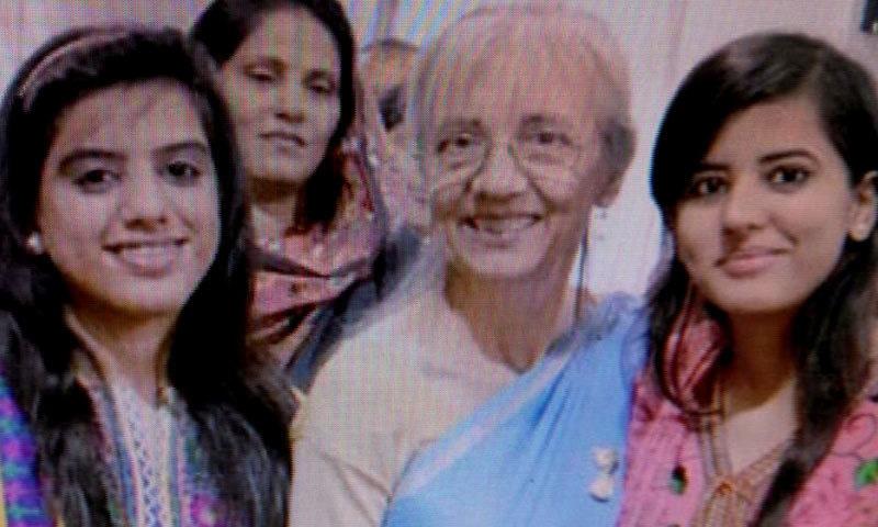 Debra Lobo. — DawnNews screengrab