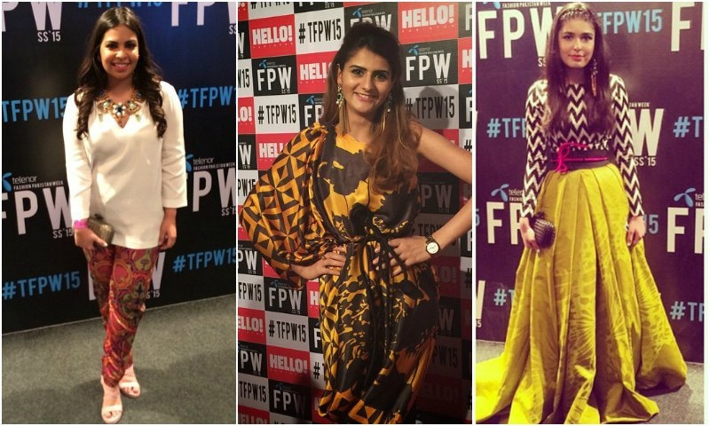 PFDC fashion week: Are we overdoing the red carpet trend of