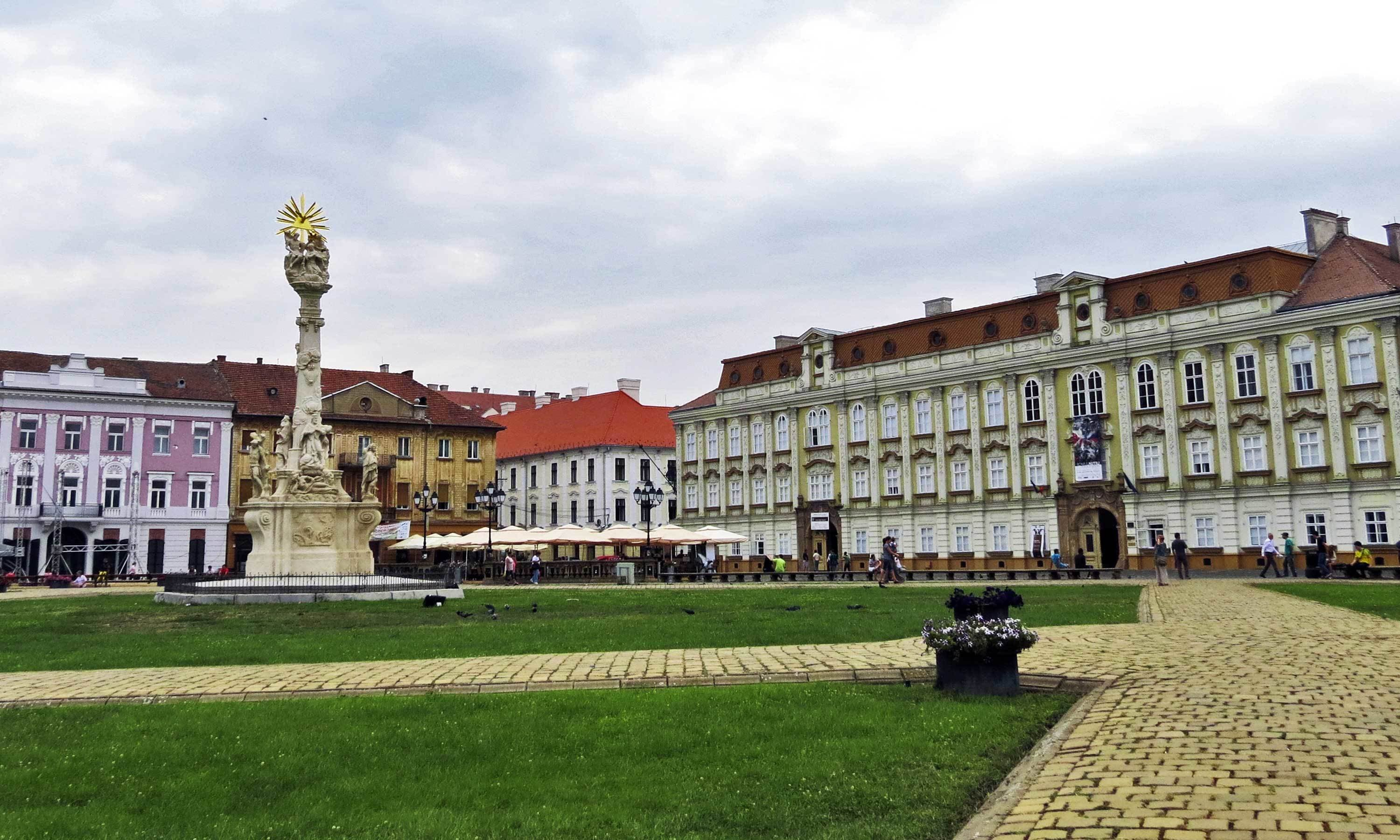 Union Square in modern-day Timisoara. - Photo by Urooj Qureshi