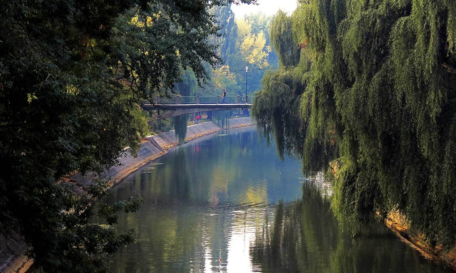 Bega canal in modern-day Timisoara is one of the old waterways still functioning. - Photo by Urooj Qureshi