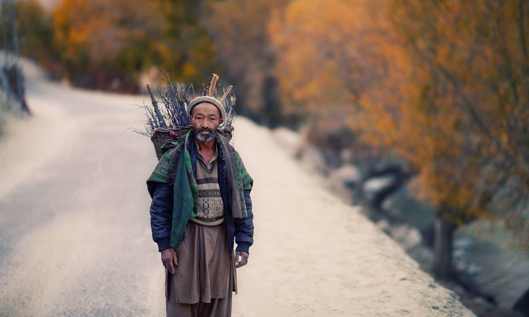 A Balti man. — S.M.Bukhari