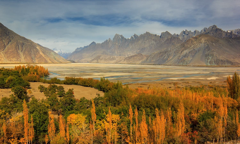 Shyok river delta. — S.M.Bukhari