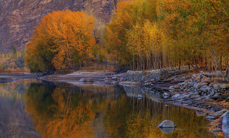 Autumn In Khaplu. — S.M.Bukhari