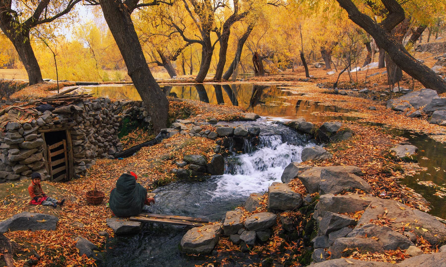 Daily life in Khaplu. — S.M.Bukhari