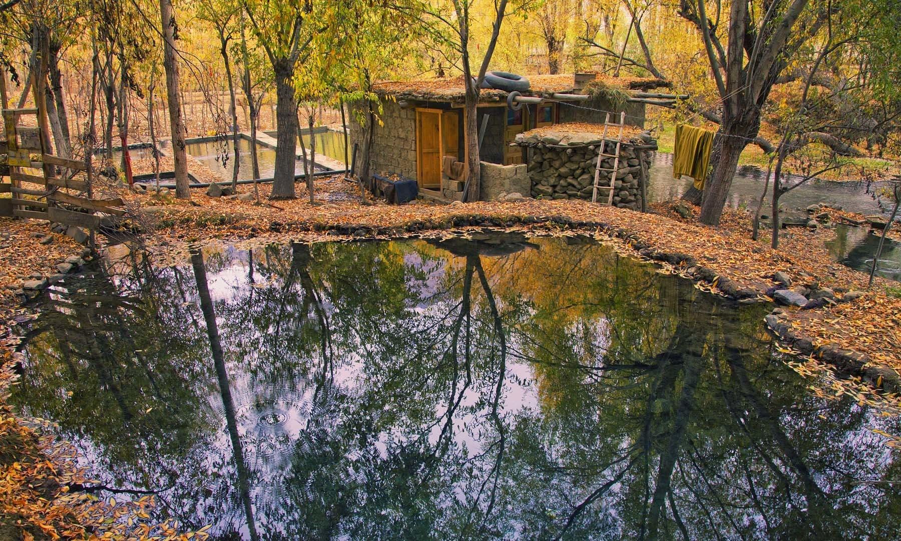 Settlement in Khaplu. — S.M.Bukhari