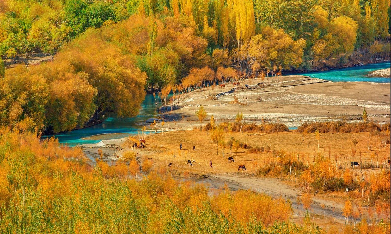 View from Machlu. — S.M.Bukhari