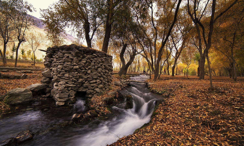 Stream in Khaplu. — S.M.Bukhari