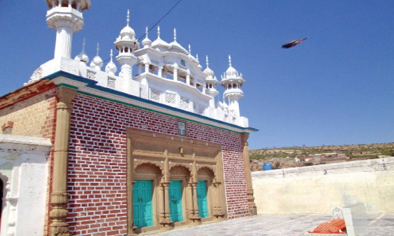 The historic mosque built with the help of a Hindu trader named Ramtar.