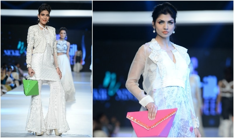 Two unarguably pret designs from Nickie Nina. - Photo: Faisal Farooqui and his team at Dragonfly