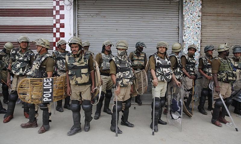 Anti-India protest