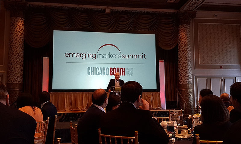 The Emerging Markets Summit in Chicago. —Photo by author
