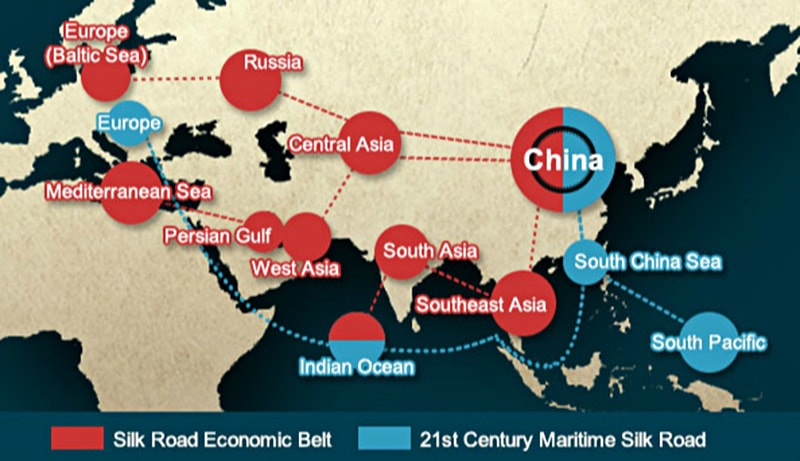 Chinas New Silk Road Whats In It For Pakistan Pakistan - Us new silk road map
