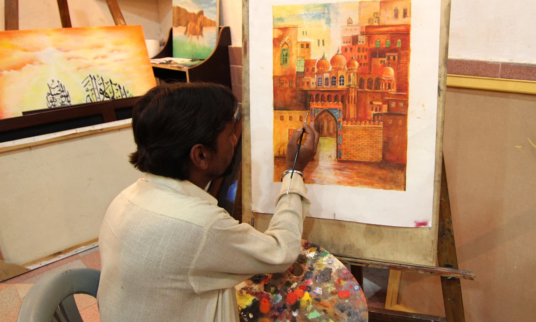 Karachi Central Jail: Learning art behind bars - Pakistan - DAWN.COM