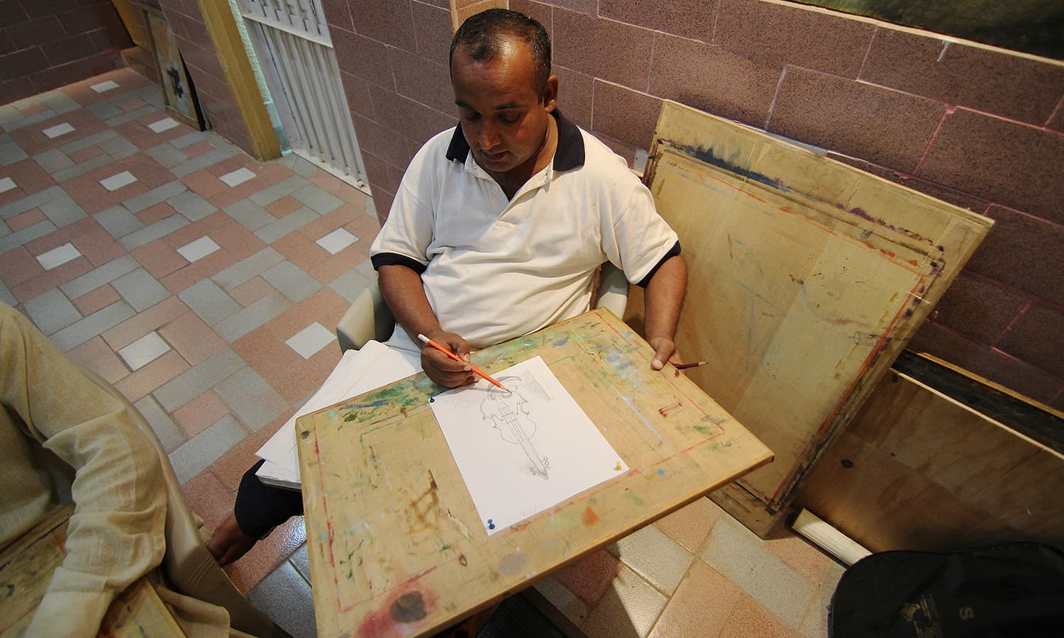 Art has been therapeutic for the prisoners.