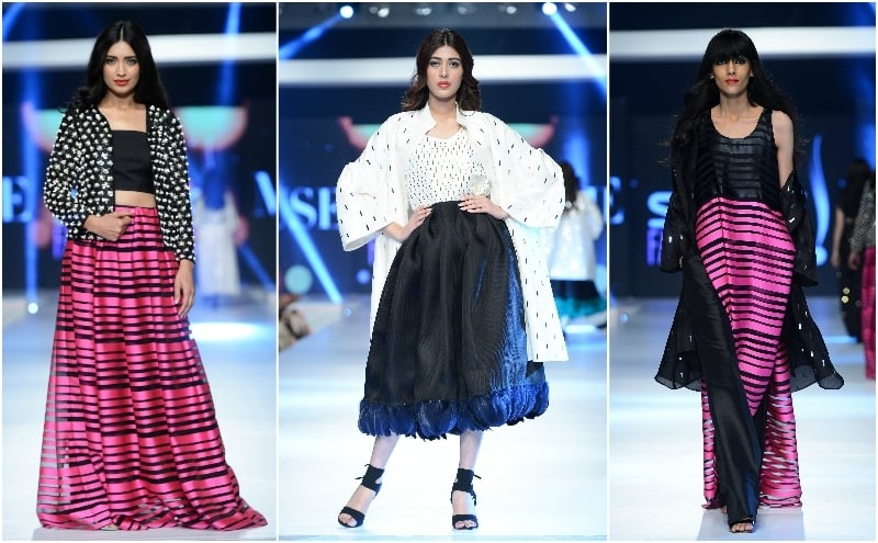 Three stand-out looks from MUSE. - Photo: Faisal Farooqui and his team at Dragonfly