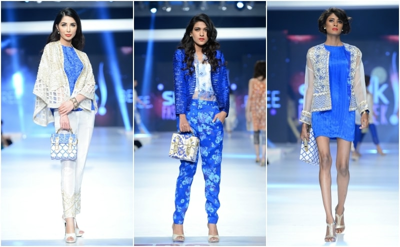 Blue dominated Beechtree's collection.- Photo: Faisal Farooqui and his team at Dragonfly