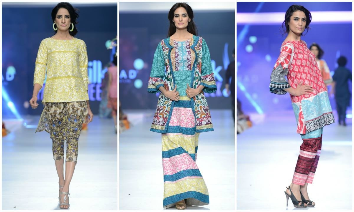 Looks from House of Ittehad. — Photo: Faisal Farooqui and his team at Dragonfly
