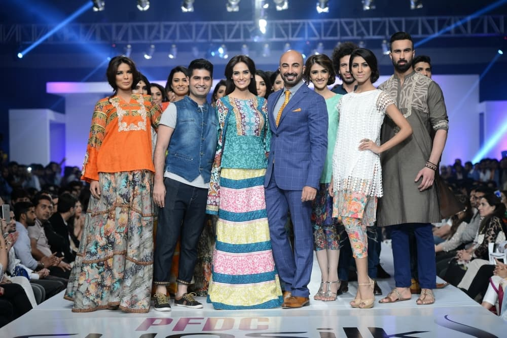 House of Ittehad takes the runway. — Photo: Faisal Farooqui and his team at Dragonfly