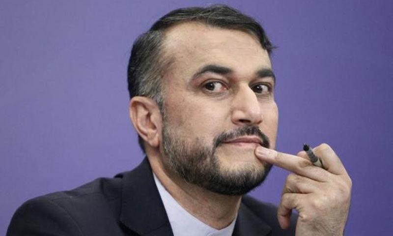 Iran's Deputy Foreign Minister Hossein Amir Abdollahian.- Reuters