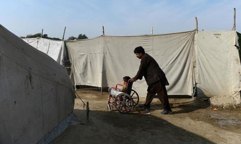 This year nine polio cases have been reported from Khyber Pakhtunkhwa. -AFP/File