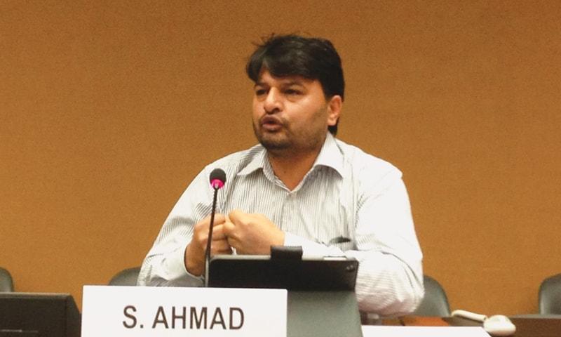 Shahzad Ahmad.