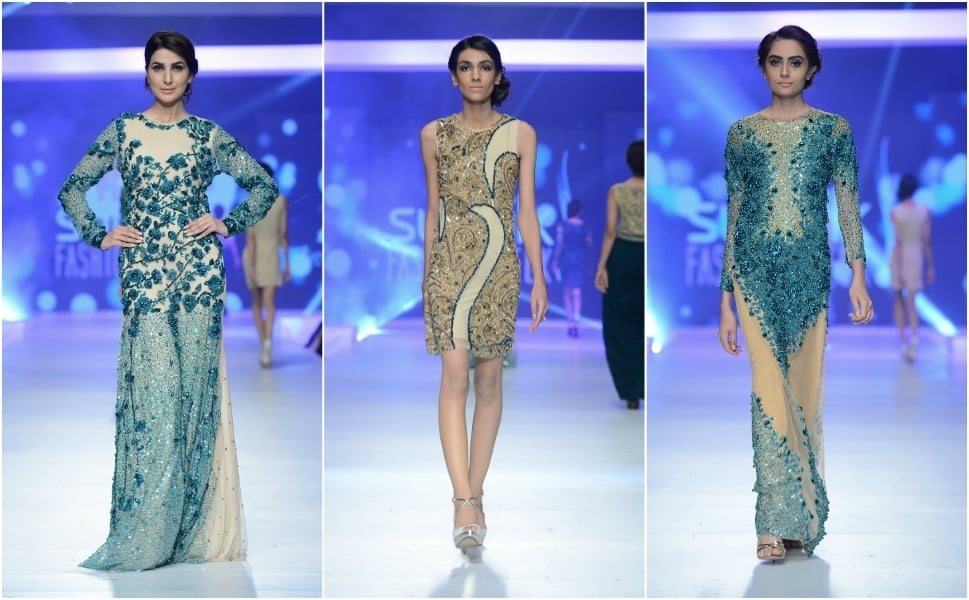 Looks from Syeda Amera.— Photo:  Faisal Farooqui and his team at Dragonfly