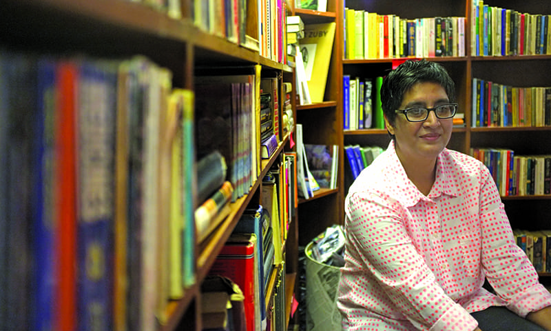 T2F Director Sabeen Mahmud. — White Star