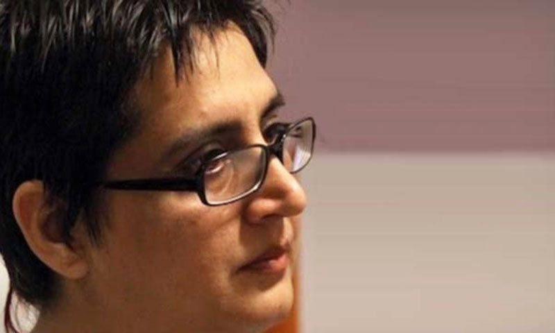 Sabeen Mahmud. — Photo courtesy: Facebook