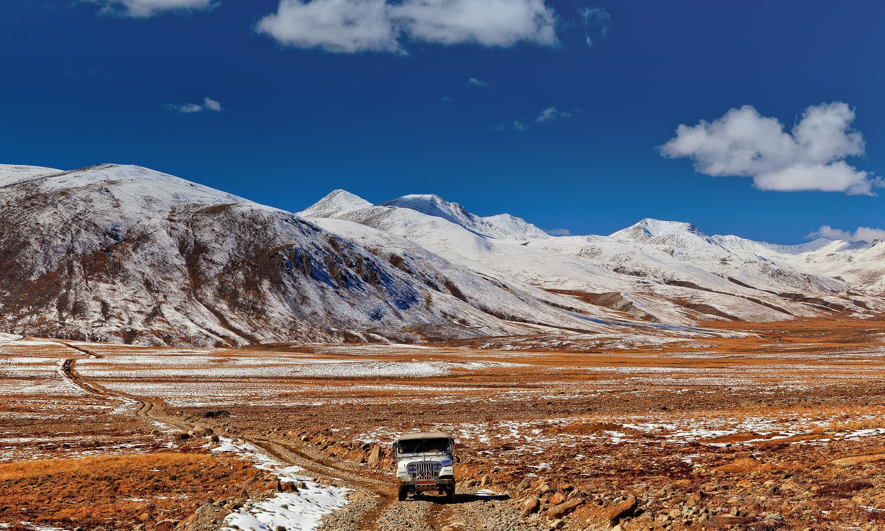 Jeep road near Deosai