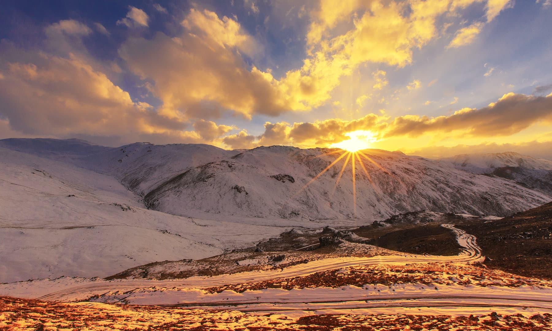 Sunset at Chillam