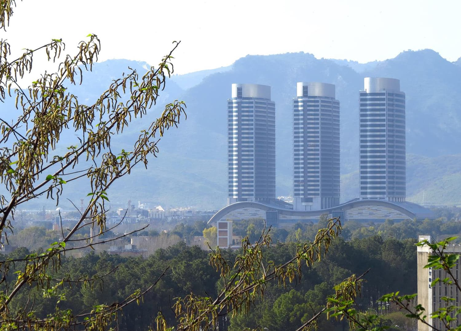 A view of The Centaurus, Islamabad.