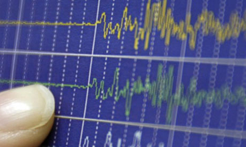 The intensity of the earthquake was recorded as 5.5 on the Richter scale. —Reuters/File