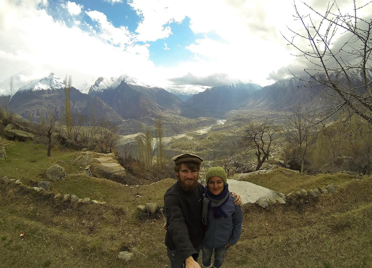 Overlooking Hunza Valley, Karimabad.