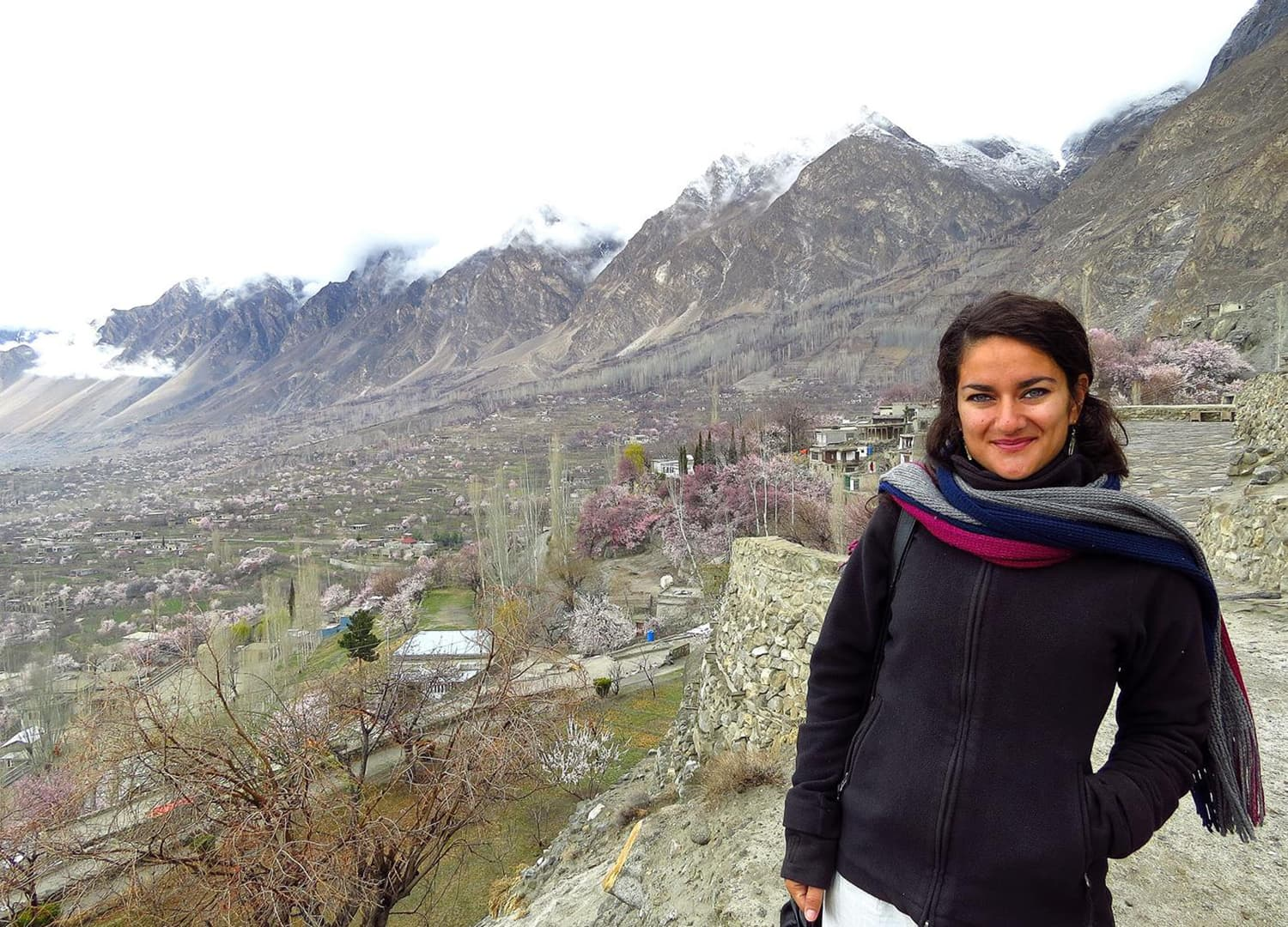 View from the Baltit Fort, Karimabad.
