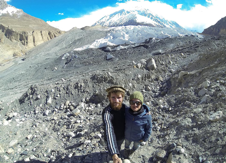 Yazghail Glacier, Shimshal Valley.