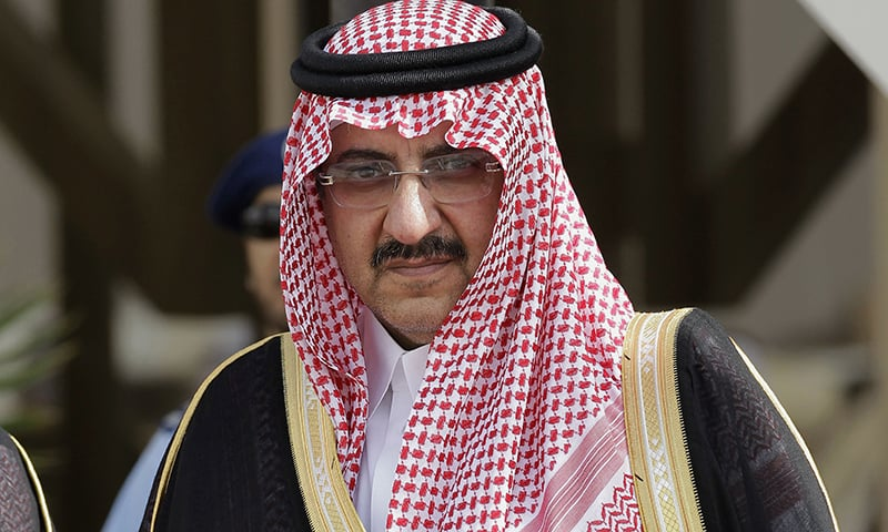 Saudi Arabia's Interior Minister Prince Mohammed bin Nayef replaces Prince Moqren bin Abdul Aziz bin Saud as the heir to the oil-rich kingdom's throne. —AP/File