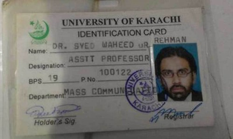 A few know about his personal life and the reason why he chose this pen name Yasir Rizvi. —DawnNews screengrab