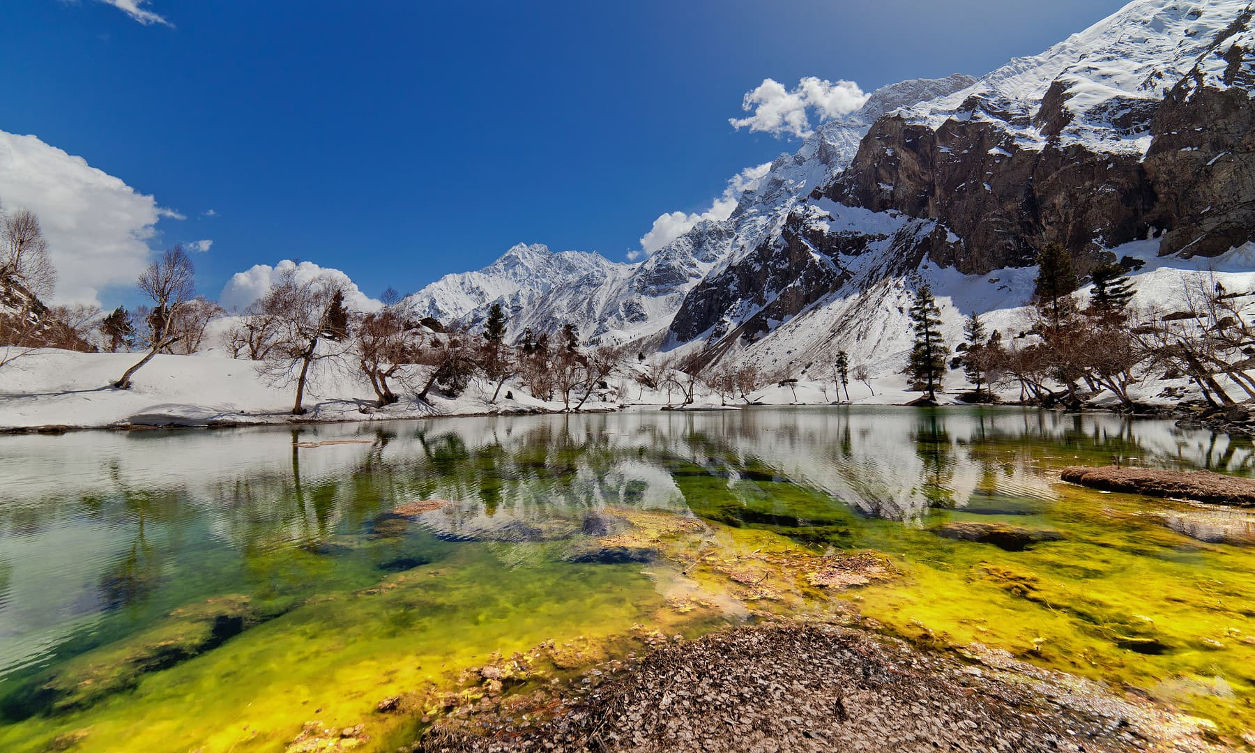 نلتر جھیل — فوٹو سید مہدی بخاری