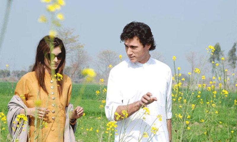 Abdul Mannan as Imran Khan. — Photo courtesy: pakistantv