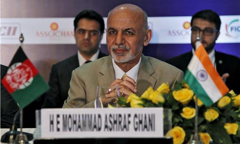 Ghani says if Pakistan does't open the Wagah land transit for Afghan imports from India, his country would take counter measures'—Reuters